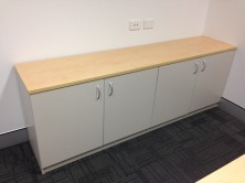 Special Credenza With 4 Hinged Doors 2000 L X 450 W X 900 H
