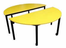 Half Moon Tables X 2