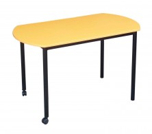 Small D Ends Table