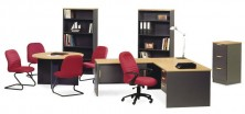 Ecotech Gable Ended Office Furniture. Choice Of MM1 And MM2 Mixed Colours