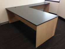 Ecotech Rectangle Desk 1800 X 900 With Attached 900 X 450 Return. Choice MM1 Or MM2 Melamine