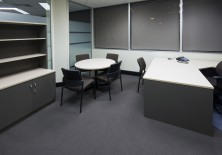 Ecotech Office Fitout. Choice Of MM1 Or MM2 Melamine Colour Range