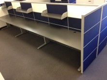 Hot Desk Tops And Screens Made To Any Size, Any Length, Any Depth