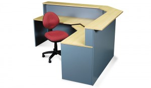 Ecotech Corner Workstation Reception Unit. Modular. Various Sizes