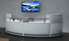 Quick Delivery Modular Reception Counter
