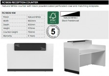 RC1809 Reception Counter Range And Specifications