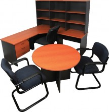 Rapid Worker Furniture. Choice: Cherry Ironstone Or Beech Ironstone