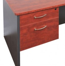 VDKP1D1F Fixed Pedestal Optional Extra. 1 Drawer : 1 File Drawer. Lockable