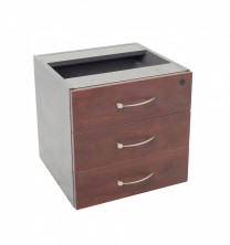 VDKP3D Fixed Pedestal Optional Extra  3 Single Drawers. Lockable