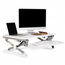 Rapid Riser Desk Top Unit. Small Or Large. White Or Black