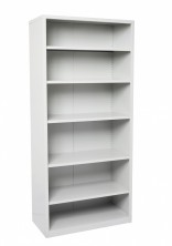 GSC9422 Steel Shelving. 2200 H X 910 W X 400 D. 5 Shelves. Silver Grey Only