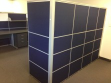 Staxis 50mm X 1800 High Screens. Can Be Made Up Of A Choice Of Various Height Tiles