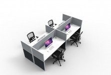 Screens With Screen Hung Desks 1800 X 750 Tops With Screen Mounted Desk Brackets