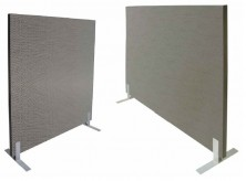 Option Fabric Upgrade On This Acoustic Freestanding Screen In Rapid Extended Fabric Colour Range