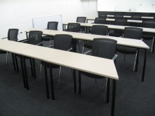 Trapezoidal Training Room Tables